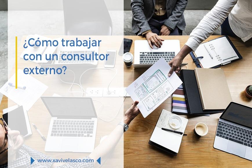 Como trabajar con un consultor externo