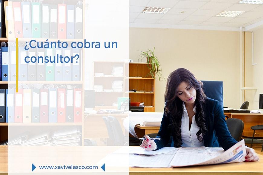 ¿Cuánto cobra un consultor?
