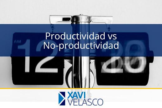 Productividad y no-productividad